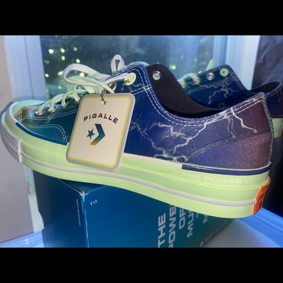 Exclusive PIGALLE X Converse Chuck 70 low cut